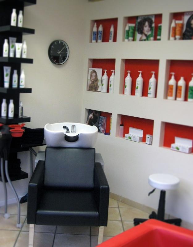 Der Friseurbereich